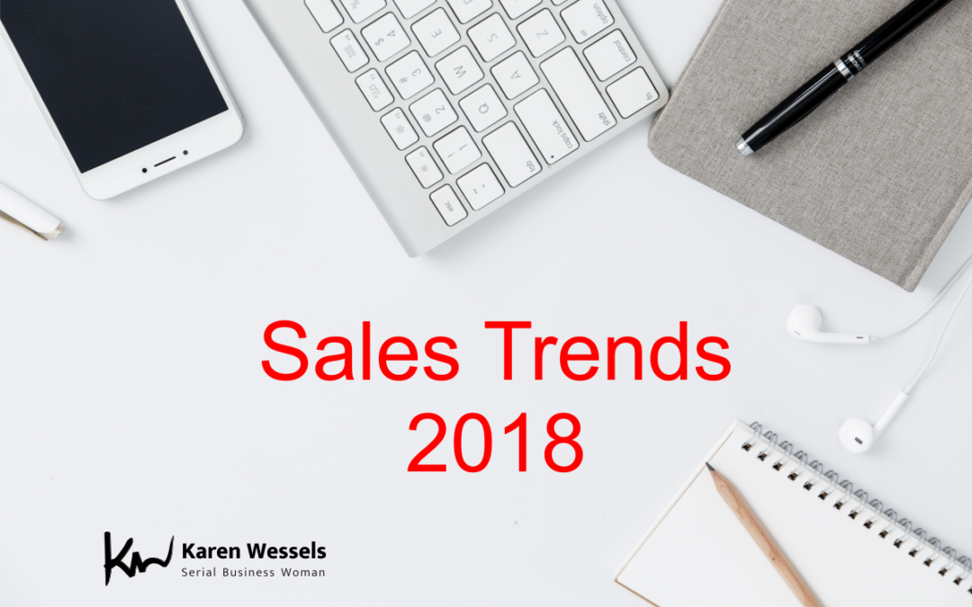 What will the top 5 sales trends of 2018 be?